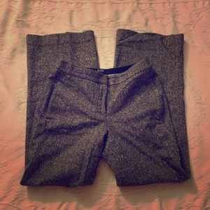 Tweed Wide Leg Dress Pants